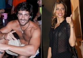 Grazi Massafera e Rodrigo Lasmar (Foto: Reprodução - Thiago Duran e Leo Franco / AgNews)