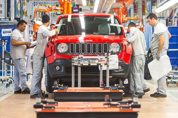 Jeep Renegade produzido em Goiana (PE) (Foto: Divulgação)