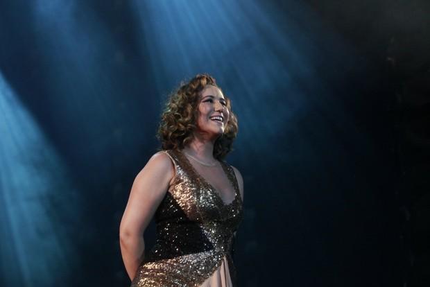 Maria Rita em show no Rio (Foto: Isac Luz/EGO)