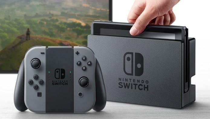 Nintendo Switch chega ao mercado (Foto: Divulgação/Nintendo)
