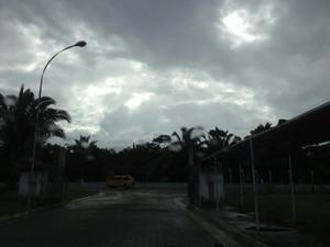 Chuvas em Porto Velho estão acima da média, segundo Sipam (Foto: Ivanete Damasceno/G1)