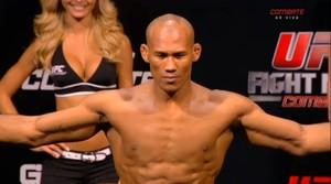 Ronaldo Jacaré bate o peso e garante presença no UFC: Glover x Bader (Foto: Reprodução/Canal Combate)