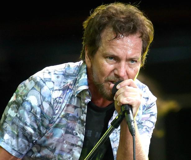 """EDDIE VEDDER, vocalista do Pearl Jam — """"Eu agradeceria a Deus, mas não acredito nisso."""" (Foto: Getty Images)"""