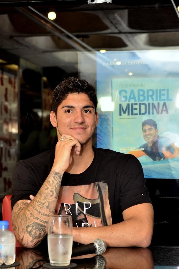 Gabriel Medina (Foto: Roberto Teixeira / EGO)