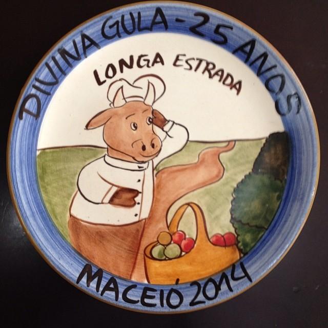 Prato produzido (Foto: Anésio Fassina / Arquivo pessoal)