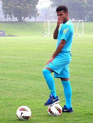 Rafinha Alcântara no treino da Seleção sub 20 (Foto: Daniel Falcão / Globoesporte.com)