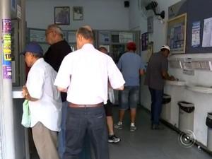 Lotérica de Sorocaba leva prêmio milionário da Mega-Sena (Foto: Reprodução/TV TEM)