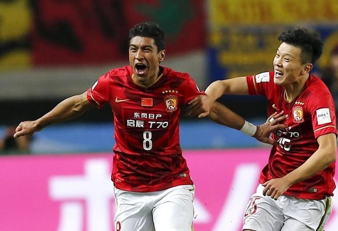 Paulinho Guangzhou Evergrande (Foto: Reuters)
