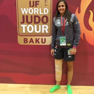 Gilmara Prudencio, judoca de Praia Grande (Foto: Arquivo pessoal)