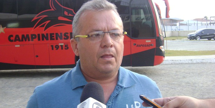 Dorgival Pereira, supervisor de futebol do Campinense (Foto: Silas Batista / globoesporte.com/pb)