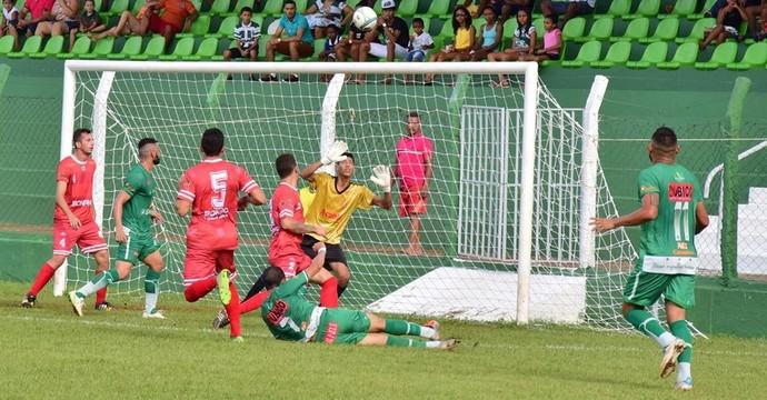 Tocantinópolis vence o Colinas no estádio Ribeirão (Foto: Dirceu Leno/Divulgação)