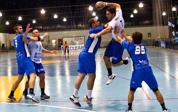 Handebol Taubaté Pinheiros Campeonato Paulista (Foto: Jonas Barbetta/ Top 10 Comunicação)