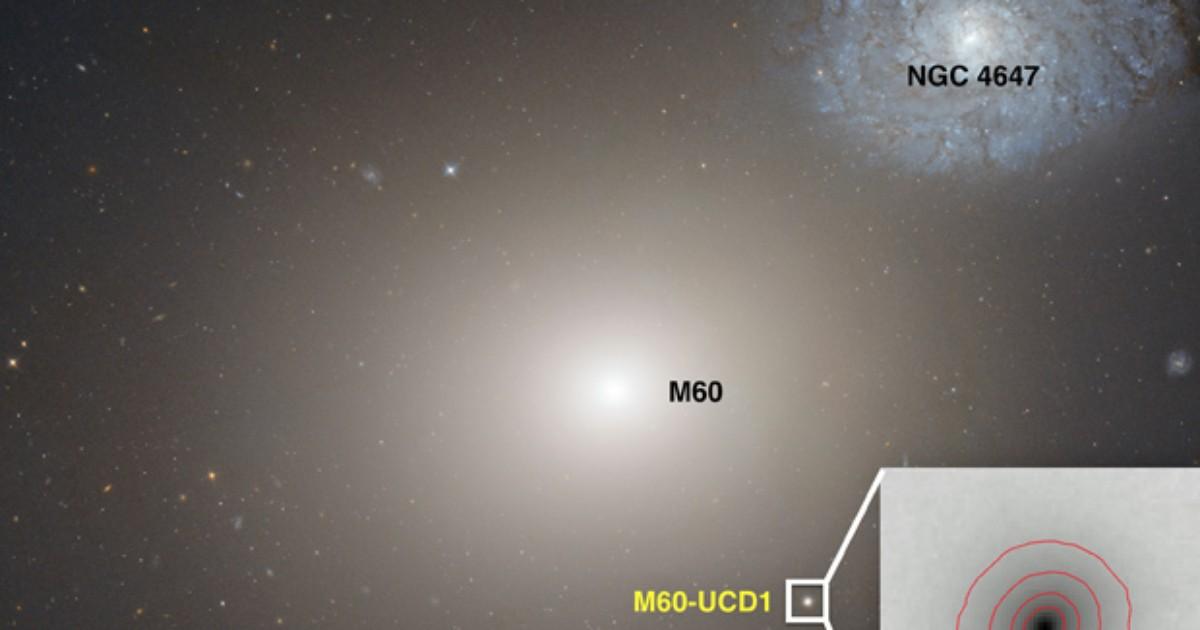 Cientistas descobrem buraco negro supermaciço dentro de galáxia anã