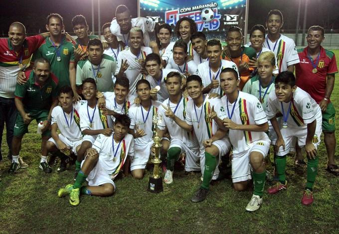 Sampaio conquista etapa da Copa Maranhão sub-17 (Foto: Divulgação / Paulo de Tarso Jr.)