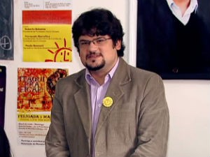 Bruno Meirinho defende a ideia de uma cidade socialista (Foto: Reprodução/RPCTV)