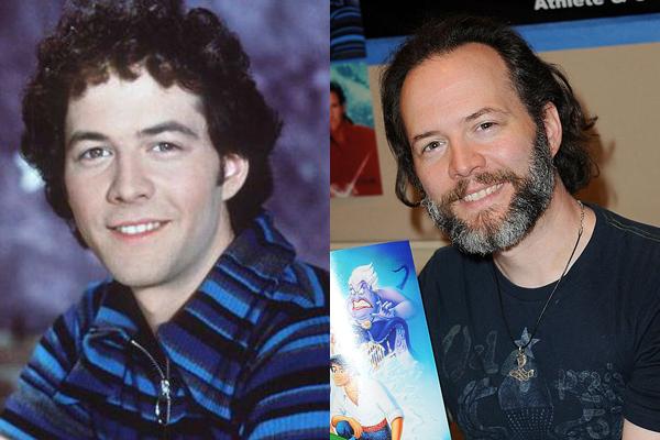 Christopher Daniel Barnes em 1995 e atualmente (Foto: Divulgação)