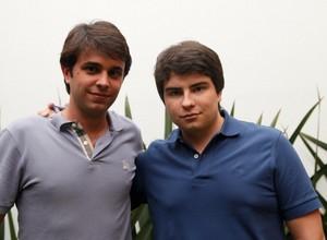 Guto Ramos (esquerda) e Rony Breuel (direita), fundadores da BR Mobile  (Foto: Divulgação)