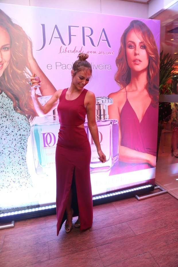 Paolla Oliveira lança linha de perfumes (Foto: AgNews  / AgNews)
