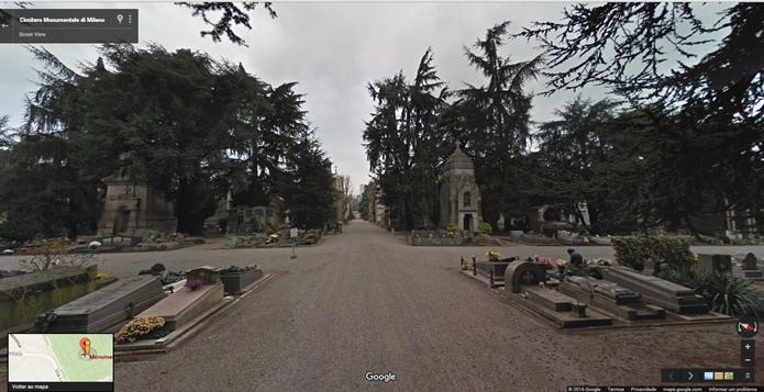 Cimitero Monumentale di Milano tem escultura confeccionada por diversos artistas famosos (Fotos: Reprodução/Gabriel Ribeiro)