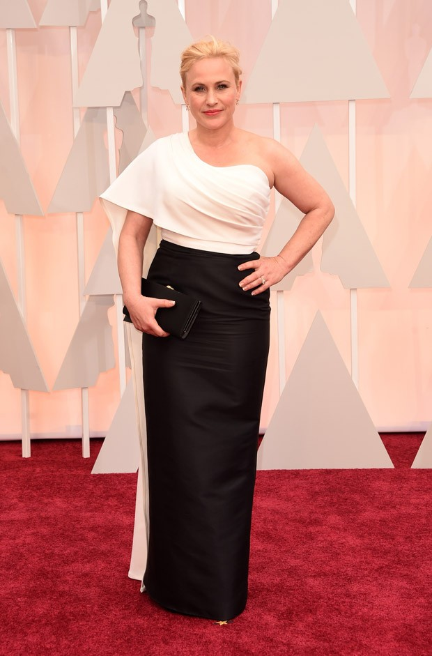 Patricia Arquette no Oscar 2015 (Foto: Getty Images)