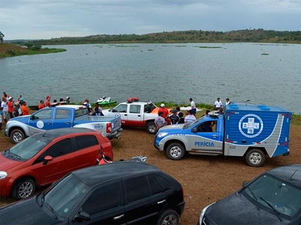Foto tirada durantes buscas realizadas na terça-feira (21) (Foto: Leandro Alves/BahianaMídia.Com)
