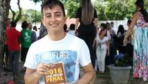 Peruano realiza sonho e faz prova em Manaus  (Jamile Alves/G1 AM)