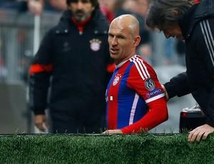 Robben, Bayern de Munique x Shakhtar (Foto: AP)