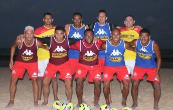 América-RN monta equipe de beach soccer com ex-jogadores da Seleção