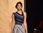 Isabelli Fontana desfila na Itália e, do Brasil, Di Ferrero diz: 'A mais linda'