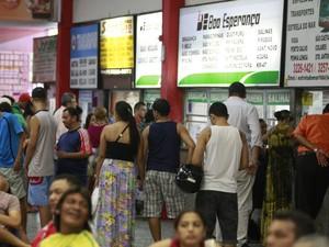 passagem terminal rodoviário belém (Foto: Tarso Sarraf/ O Liberal)