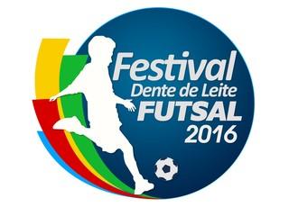 Logotipo do Festival Dente de Leite de Futsal (Foto: Arte/TV Rio Sul)