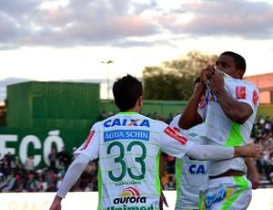 bruno rangel chapecoense gol paraná (Foto: Junior Matiello / Agência Estado)
