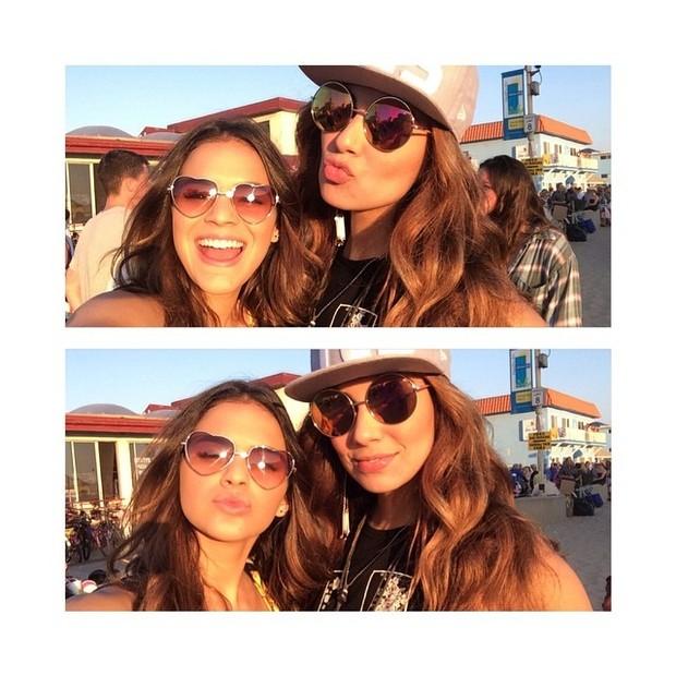 Bruna Marquezine com Stéphannie Oliveira em Los Angeles, nos EUA (Foto: Instagram/ Reprodução)