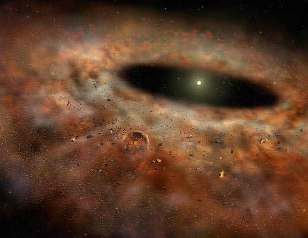 estrela desaparecida (Foto: Gemini Observatory/AURA artwork by Lynette Cook. )