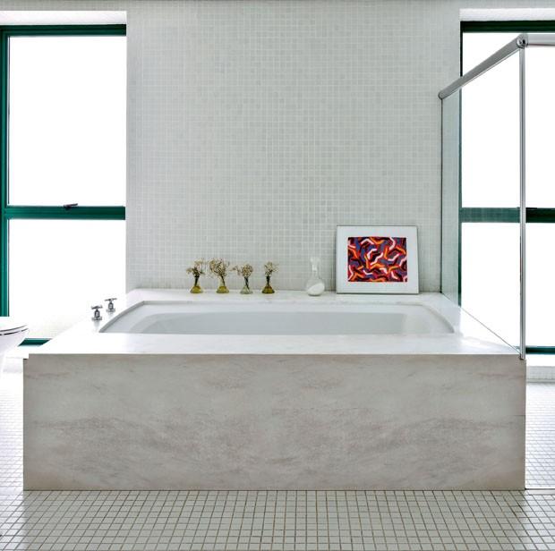 Banheiros contemporâneos com cara de spa (Foto: Filippo Bamberghi)