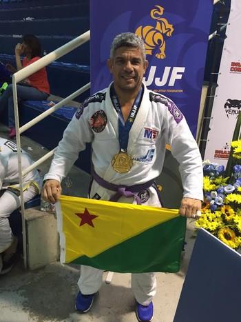 Duda Castro, atleta acreano (Foto: Duda Castro/arquivo pessoal)