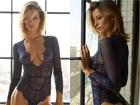 Top Flávia Lucini revela dieta na véspera do desfile da Victoria's Secret