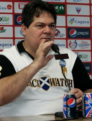 Osmar Baquit presidente Fortaleza (Foto: Alex Costa/ Agência Diário)