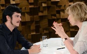 Ator Mateus Solano e Marília Gabriela Entrevista