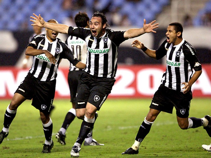 Leandro Zárate Botafogo (Foto: GloboEsporte.com)