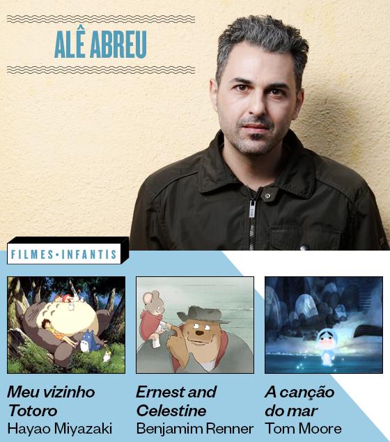 Especial Dia das Crianças - Filmes indicados por Alê Abreu (Foto: Camilla Maia / Ag OGlobo e Divulgação)