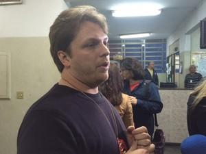 Delegado Andreas Schisann falou sobre o caso (Foto: Amanda Previdelli/G1 São Paulo)