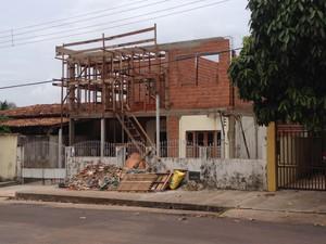 Metro quadrado de casa própria custa R$ 859,42 no Amapá (Foto: John Pacheco/G1)