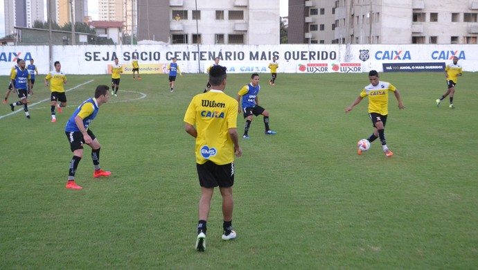 ABC - treino - CT Alberi Ferreira de Matos (Foto: Jocaff Souza/GloboEsporte.com)