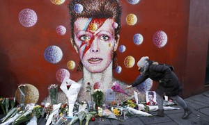 Artistas lamentam a morte do cantor David Bowie