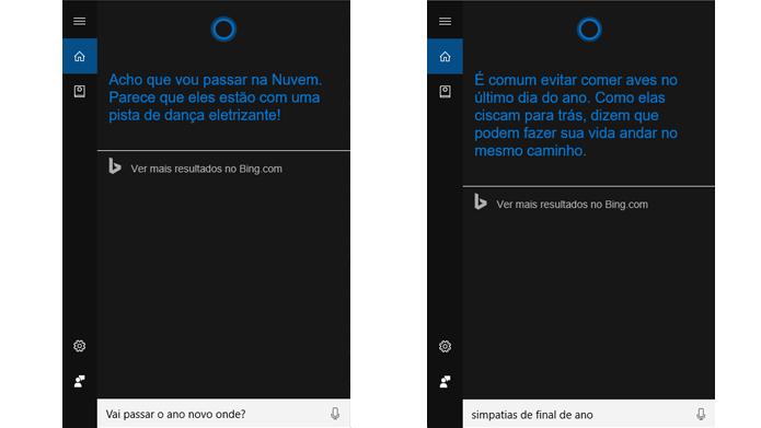 Software responde onde vai passar a virada e fornece simpatias para ajudar usuários (Foto: Reprodução/Windows)