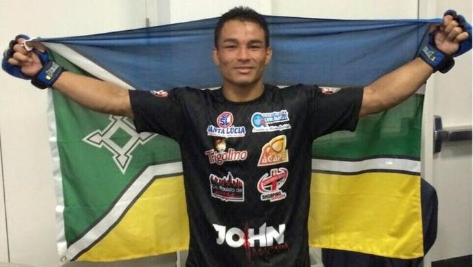 John Macapá; Bellator 136 (Foto: Reprodução/Facebook)