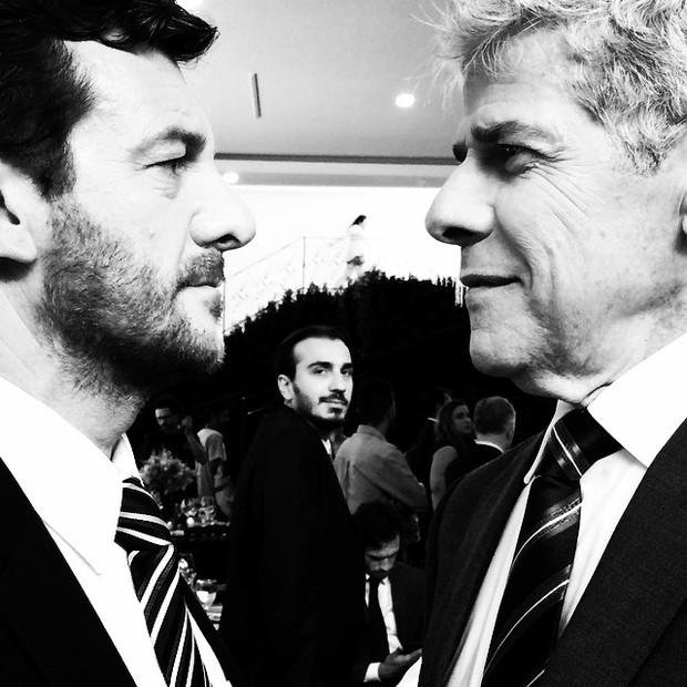 Roberto Birindelli e José Mayer (Foto: Instagram)