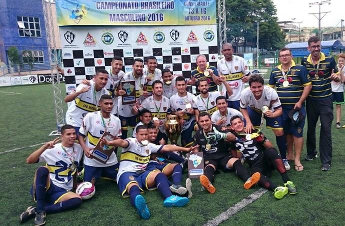 Time do Mendes, de Cariacica, é o campeão do Brasileiro de futebol 7 (Foto: Rodrigo Oliveira)