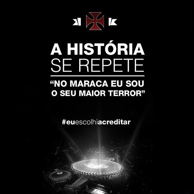 Vasco twitter oficial provocação